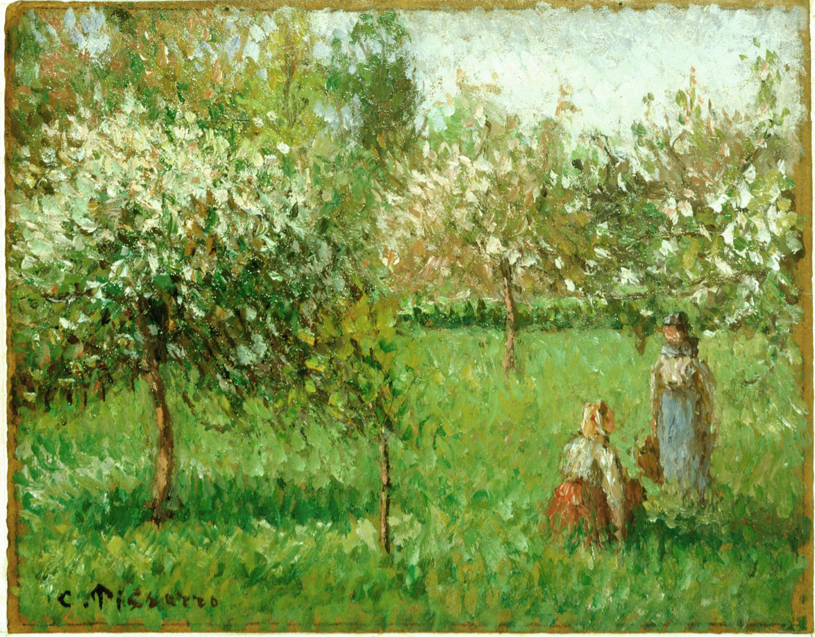 Apple Trees in Bloom, Eragny - 300 ppi