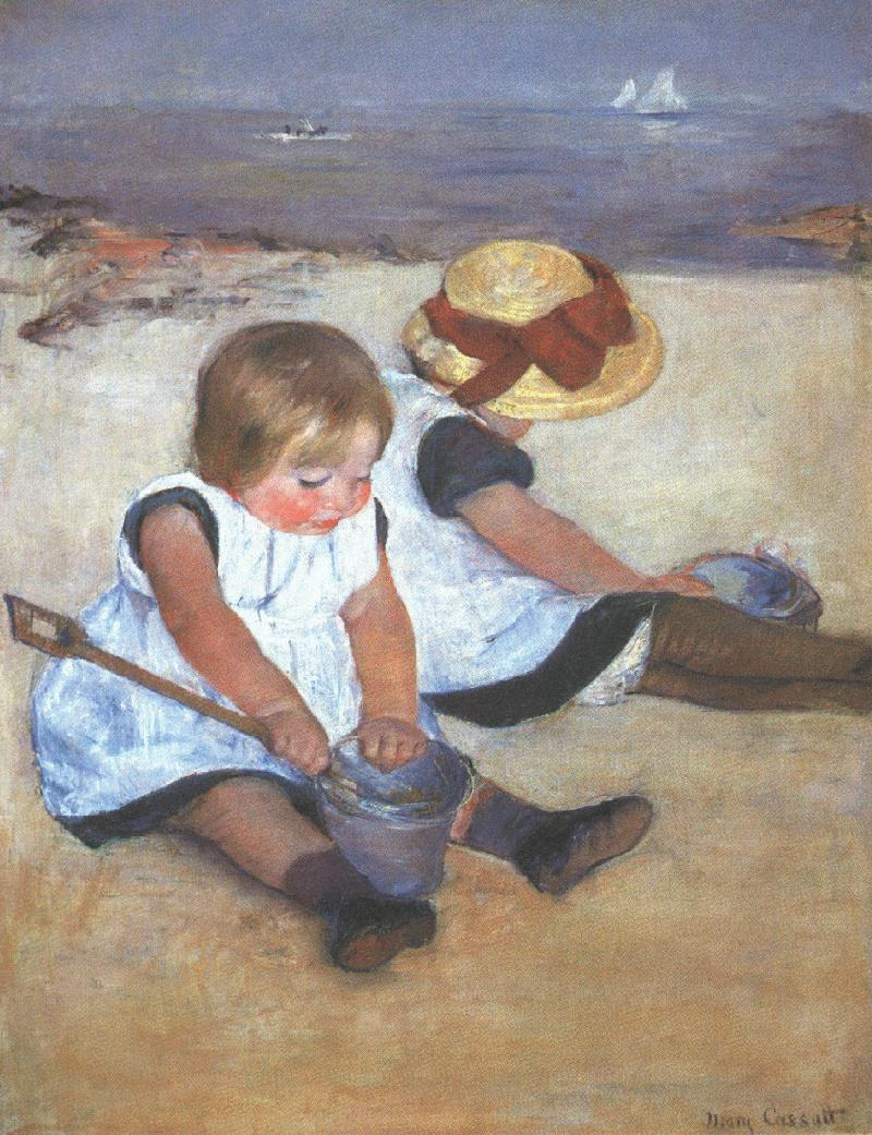 Cassatt_Mary_Children_on_the_Beach_1884