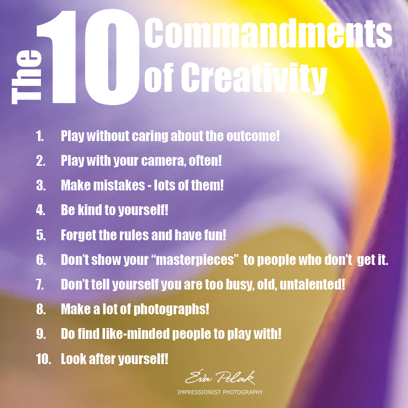 The 10 Commandments of Creativity