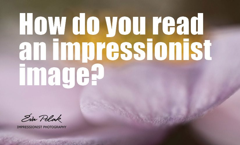 How do you read an impressionist image?