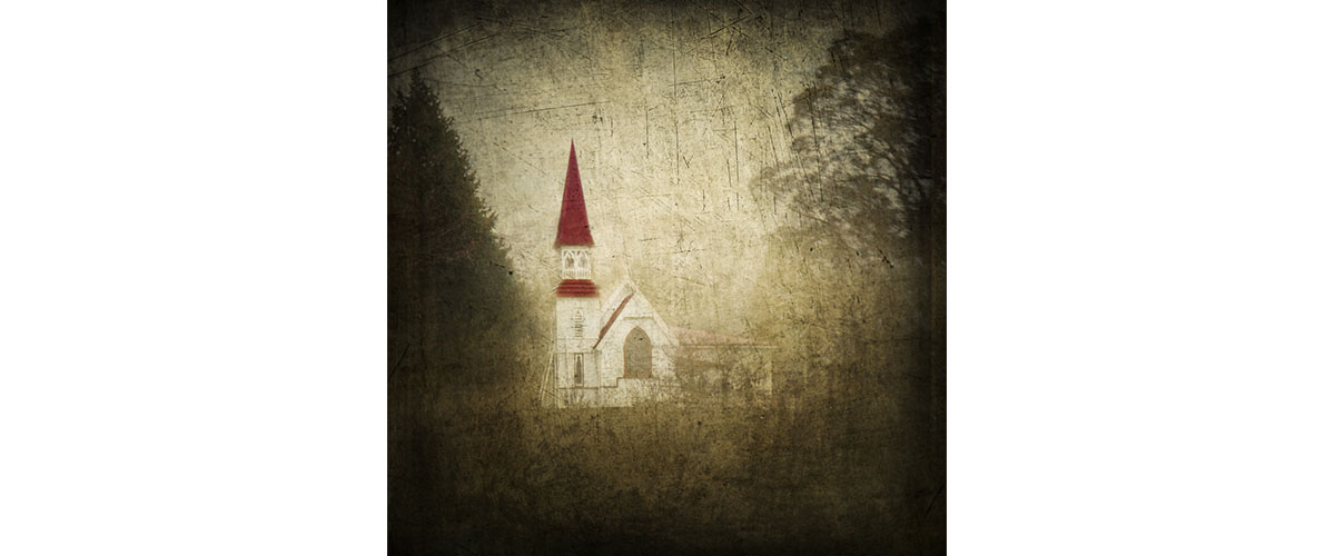 The little church that sits upon a little hill by CFeinHarding