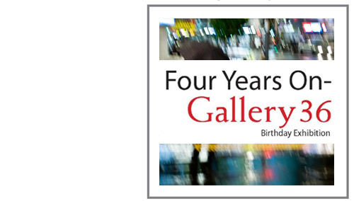 Image of Gallery 36 exhibition Invitation