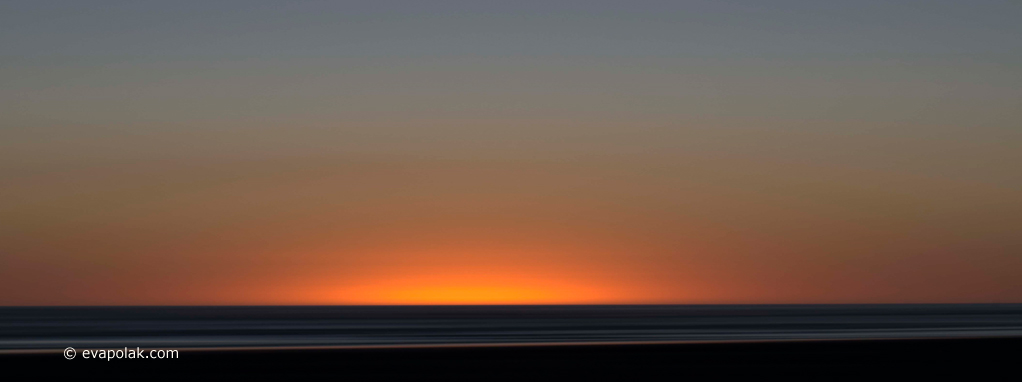 abstraction of sunset