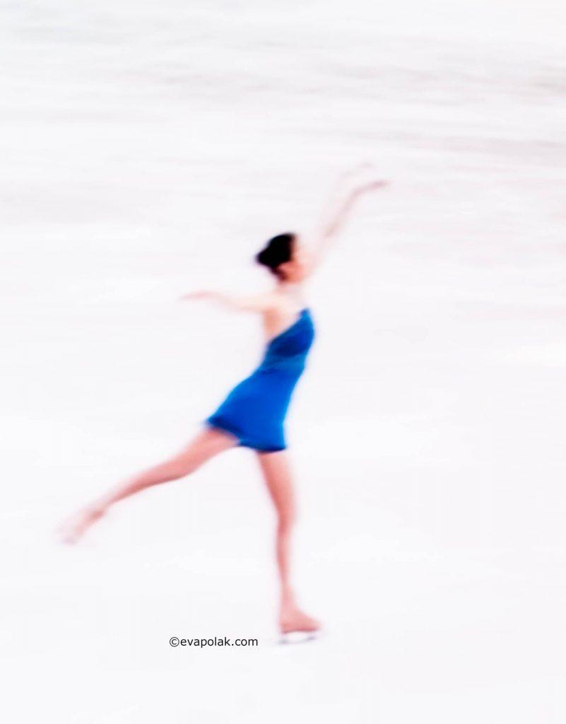 The ice is my canvas by Eva Polak