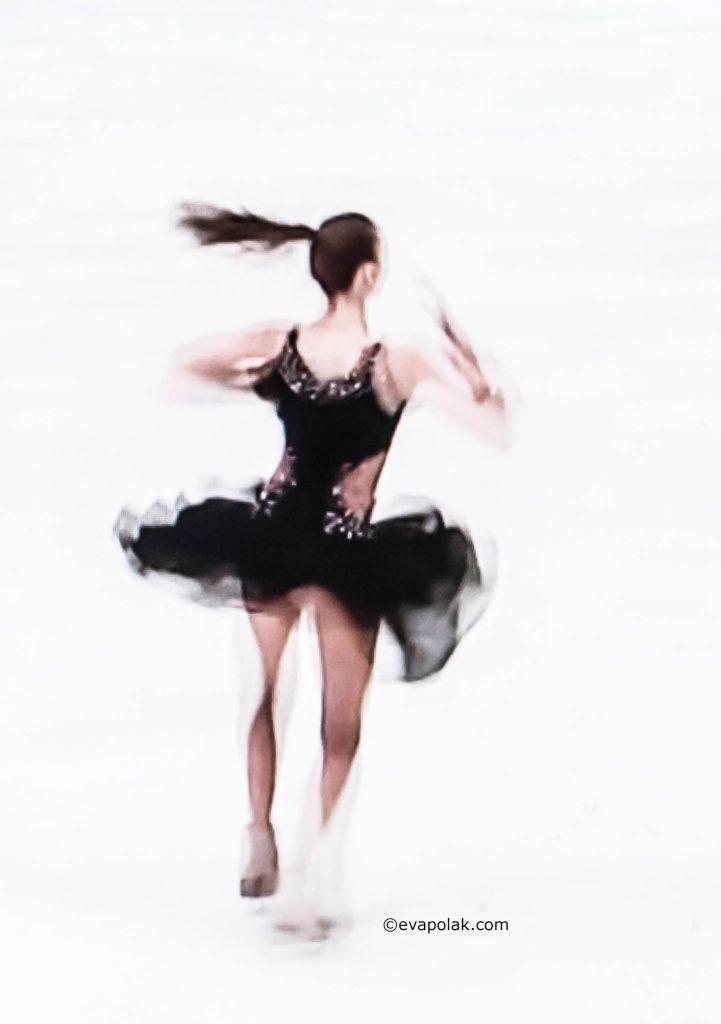 Ice skating- progression of moves by Eva Polak