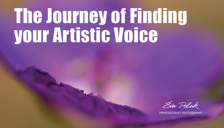 The Journey of Finding your Artistic Voice