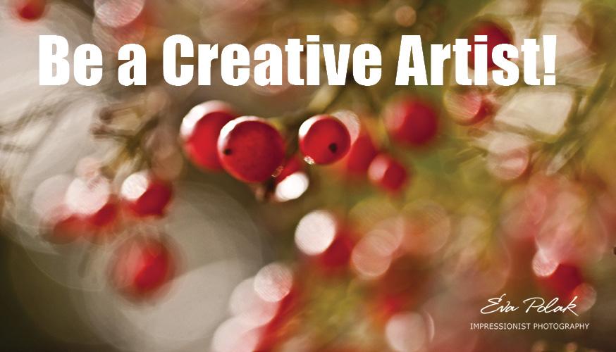 Be a Creative Artist!